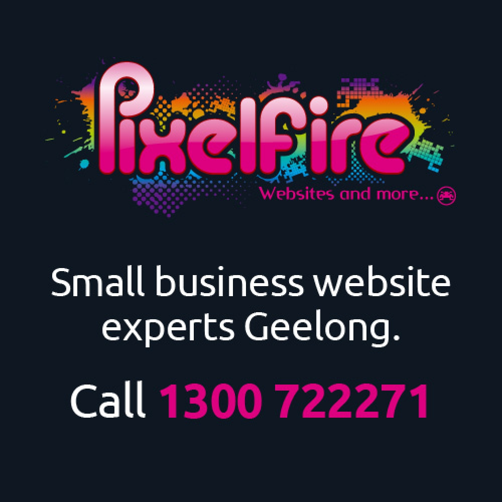 Pixelfire Website Design Geelong